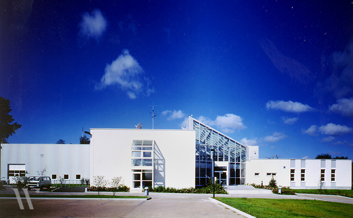 Neubau Service- und Ausbildungszentrum