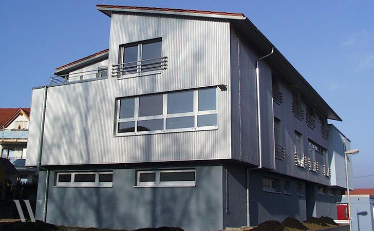 Modernisierung und Erweiterung Feuerwehrhaus
