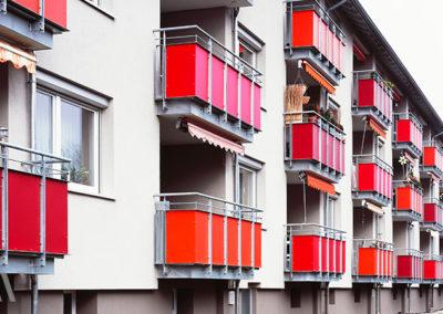 Modernisierung zwei 24-Familienhäuser