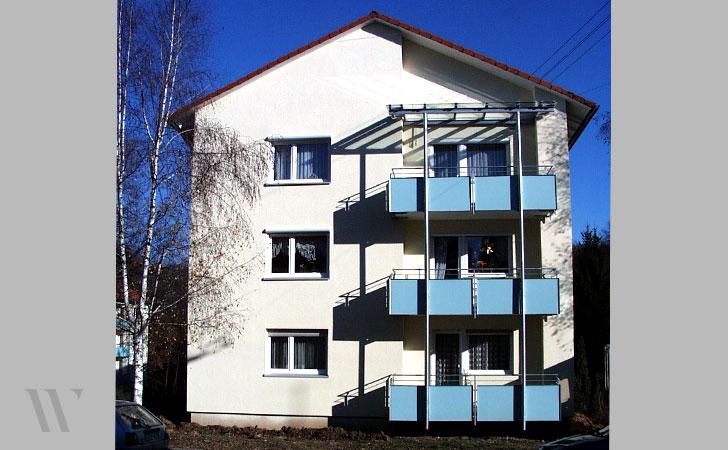 Modernisierung 3 Mehrfamilienhäuser