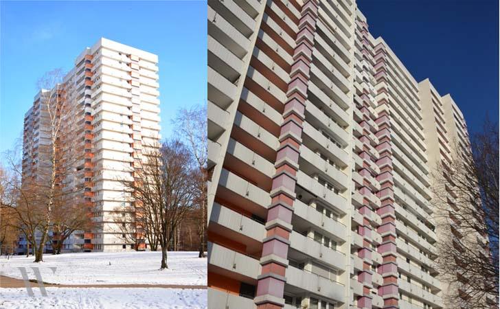 Modernisierung Wohnhochhaus