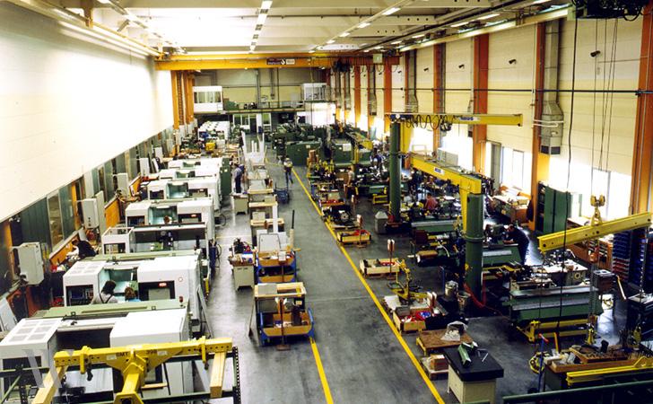 Neubau Produktionshalle, Traub AG