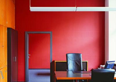 Renovierung und Modernisierung Büroetage