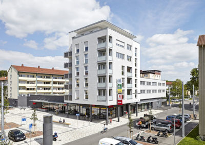 Neubau Wohn- und Geschäftshaus mit Tiefgarage