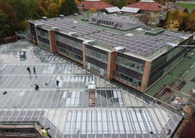 Behelfsbauten Michelberg Gymnasium Geislingen