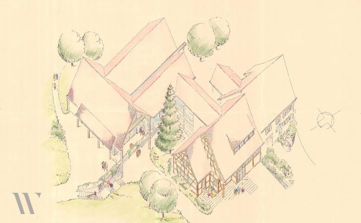 Brandschutz und Innenrenovierung Gemeindehaus